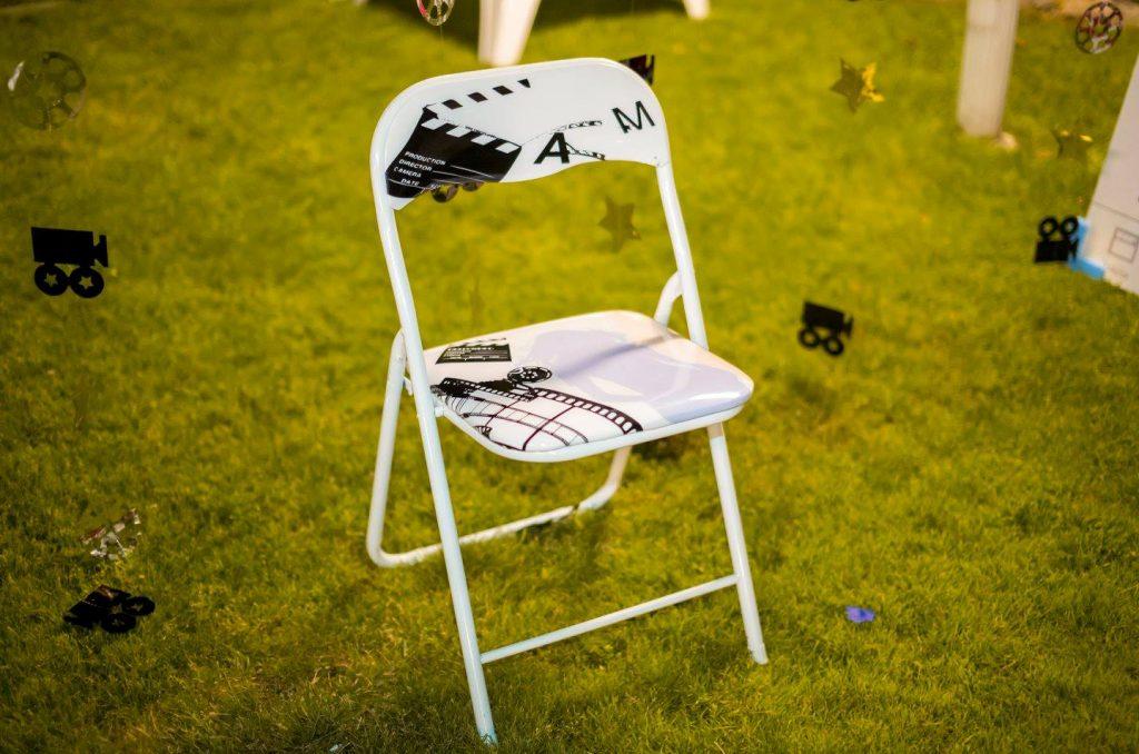 silla de cine banqueta