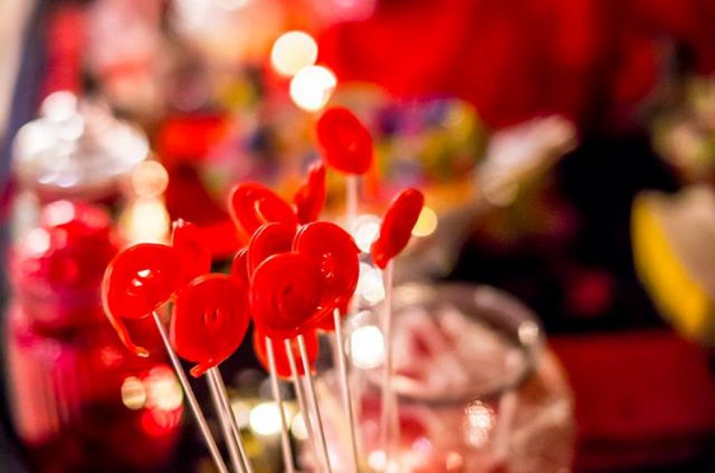 boda de cine candy bar mesa dulce