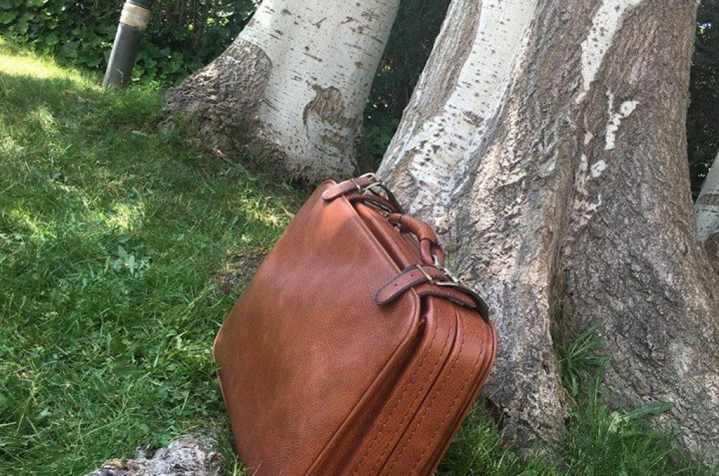 maleta viajera decoración