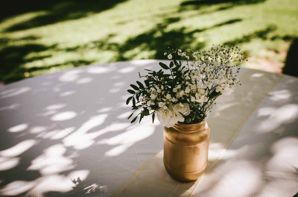 botes decorativos flores