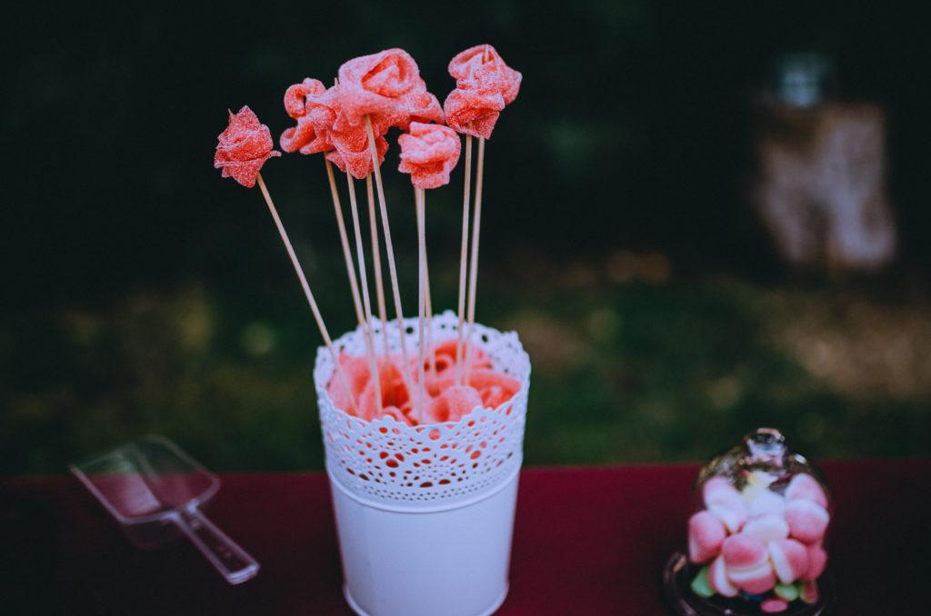 rosas regaliz lengua