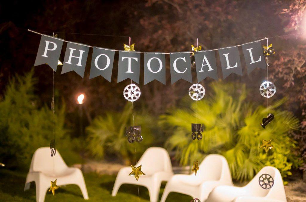 boda de cine photocall estrellas