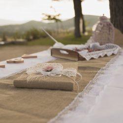papelería boda vintage artesanal