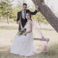 columpio vintage boda rústica