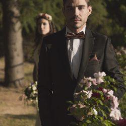 boda rústica flores
