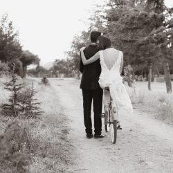 fotos bicicleta vintage naturaleza blanco y negro