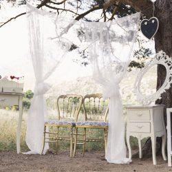 photocall vintage visillo sillas marco